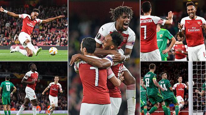 Kết quả Arsenal vs Vorksla: Dàn sao tỏa sáng, mãn nhãn 6 bàn