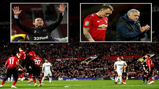MU thua S.Ố.C đội hạng Nhất: Báo chí Anh chao đảo, chờ ngày sa thải Mourinho