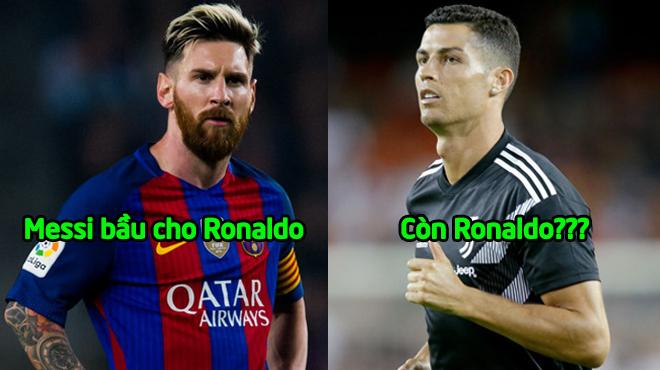 Trong khi Messi bầu chọn cho Ronaldo thì CR7 đáp trả bằng lá phiếu bầu bất ngờ thế này đây!