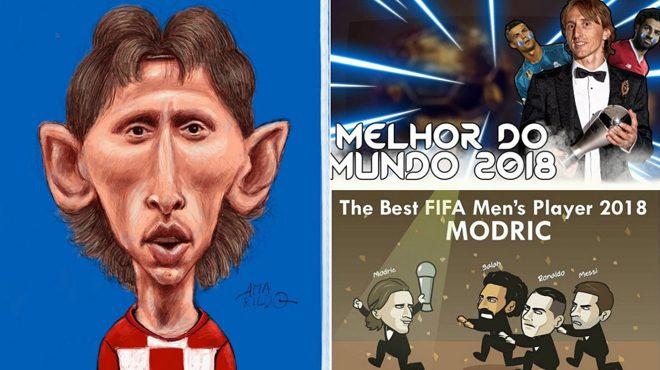 Cười té ghế với muôn vàn ảnh chế về giải The Best: Ronaldo, Messi và Salah đuổi theo không kịp Modric rồi!