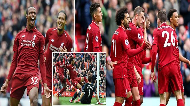 Vua Ai Cập giải hạn, Liverpool đè bẹp Southampton, độc chiếm ngôi đầu bảng