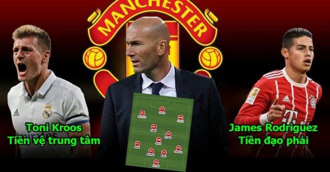 Hé lộ đội hình siêu k.h.ủ.n.g Zidane sẽ mang tới MU: Đội bóng mạnh nhất hành tinh là đây chứ đâu