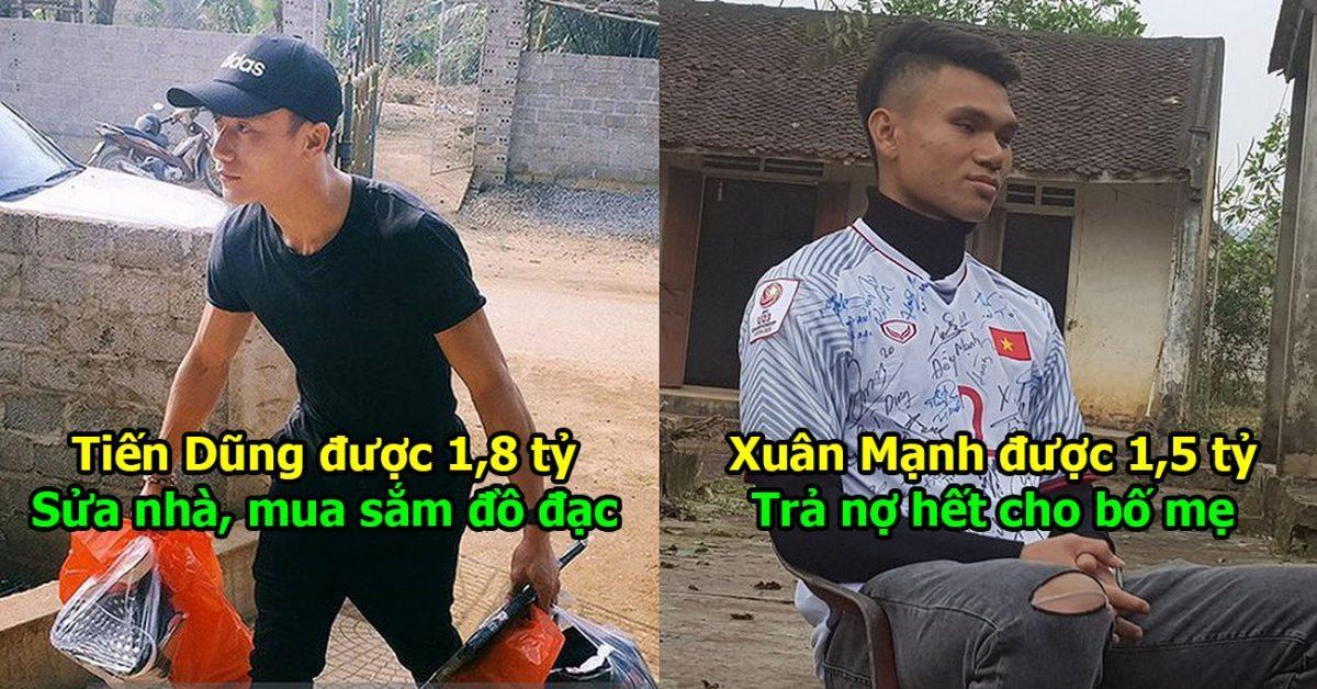 Nhận thưởng tiền tỷ mỗi người sau chiến tích vĩ đại, dàn sao U23 Việt Nam tiết lộ kế hoạch tiêu xài, nghe Văn Hậu kể mà thương quá!