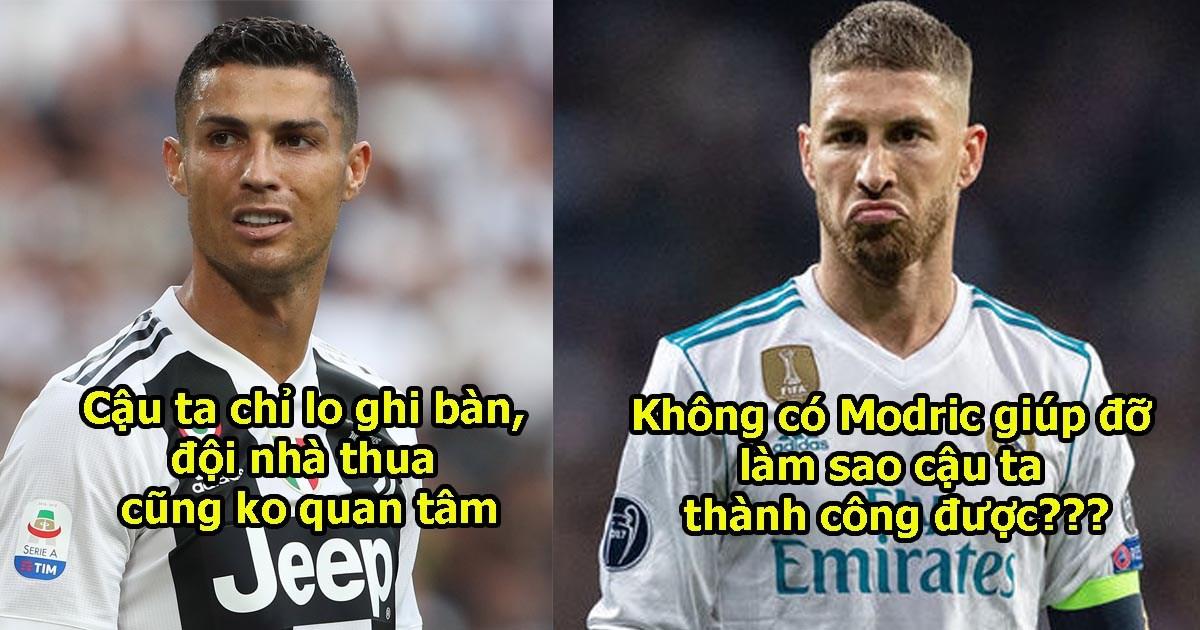 """""""Ronaldo là kẻ ích kỷ khó chịu, Tôi không bao giờ muốn có anh ta trong đội hình"""""""
