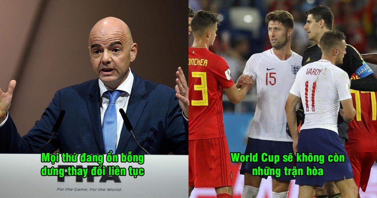 """FIFA quyết định thay đổi """"điển rồ"""" ở World Cup 2022: Sẽ không còn những trận hòa ở vòng bảng nữa rồi"""
