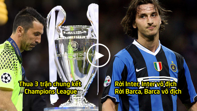 Giành đủ mọi vinh quang ở CLB lẫn ĐTQG, nhưng 5 huyền thoại này vẫn bị chức vô địch Champions League quay lưng