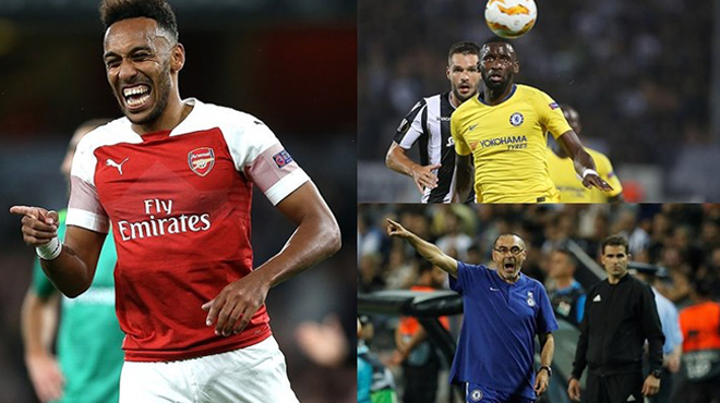 Bảng xếp hạng Europa League sau lượt trận đầu tiên: Thành London toàn thắng những vẫn còn rất nhiều nỗi lo