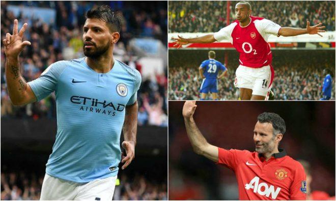 """Top 10 """"chân sút ngoại"""" ghi nhiều bàn thắng nhất lịch sử Premier League: Thật khó để phá vỡ kỷ lục của huyền thoại này!"""