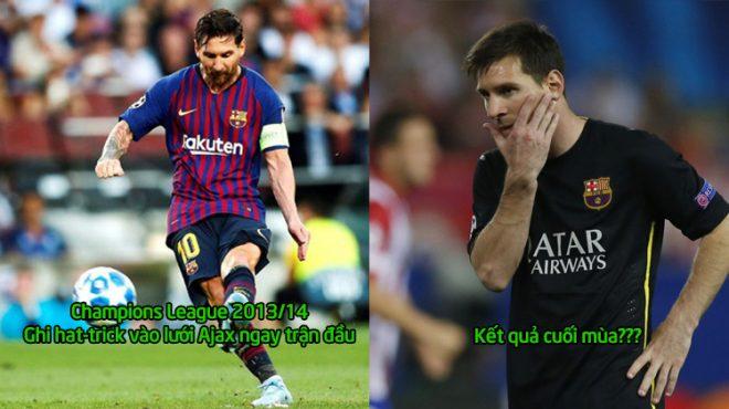 Đang vui mừng với chiến thắng, fan Barca bỗng giật mình khi biết số phận của đội nhà mỗi lần Messi ghi hat-trick mở màn