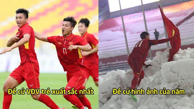 Công bố giải thưởng hàng năm tôn vinh VĐV thể thao, U23 Việt Nam áp đảo danh sách đề cử