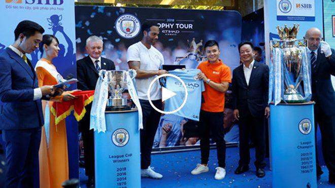 Đứng bên cúp vàng Premier League, Quang Hải tự tin tuyên bố mục tiêu cực lớn cùng ĐTVN