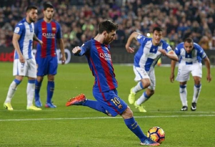 Football Soccer – Barcelona v Leganes – Spanish La Liga Santander