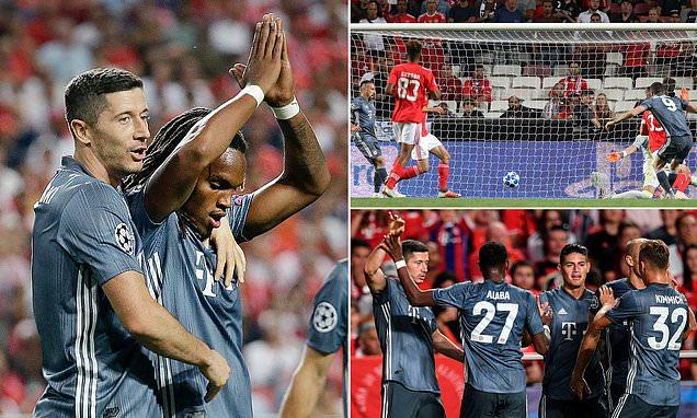 """""""Người cũ"""" tỏa sáng gieo sầu Benfica, mang về chiến quả đầu tay cho Bayern"""