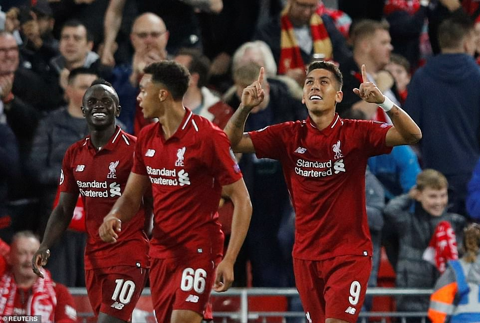 Champions League – Group Stage – Group C – Liverpool v Paris St Germain