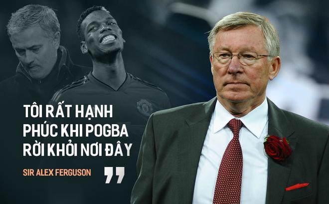 """Rùng mình trước """"lời tiên tri"""" của Sir Alex về Pogba ngày nào, giờ ứng nghiệm rồi đấy Mourinho!"""