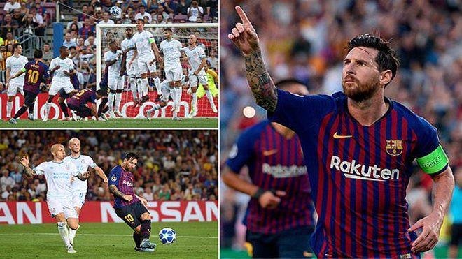 Messi lập hat-trick đẳng cấp, Barcelona vùi dập PSV ngay trên sân nhà