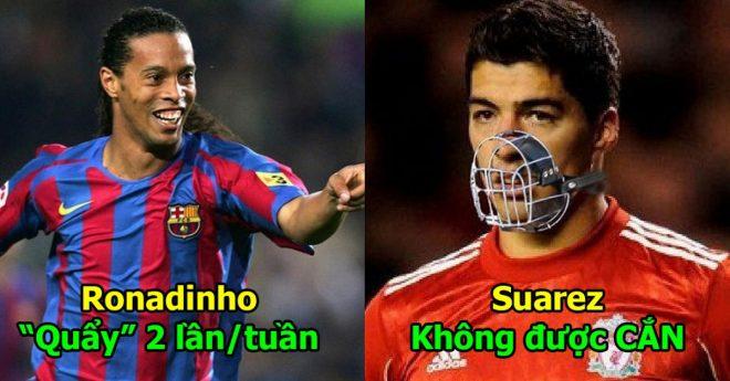 8 cầu thủ sở hữu điều khoản hợp đồng quái dị nhất thế giới: Đọc đến Ronaldinho mà cười đau bụng