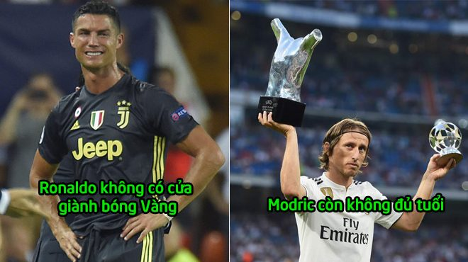 Công bố kết quả Quả Bóng Vàng 2018: CR7, Messi, Modric tạch hết. Người nhận giải là cầu thủ Pháp!