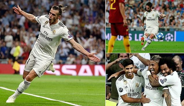 Bale và 'số 7 mới' giúp Real nhảy múa tưng bừng trước Bầy Sói ở trận mở màn Champions League