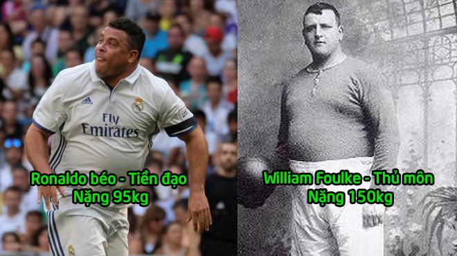 Những cầu thủ bị cả thế giới chê cười vì quá béo nhưng tài năng thì không ai dám coi thường