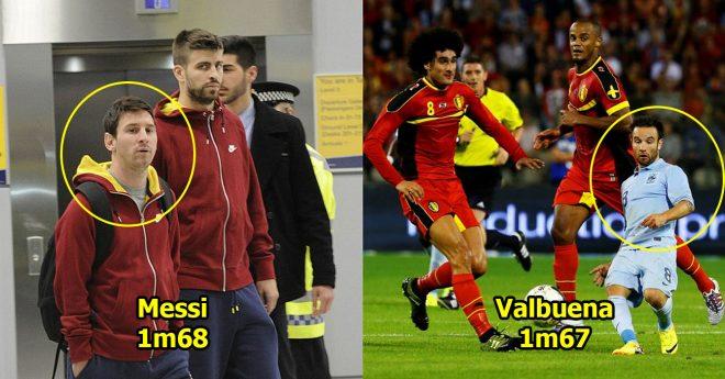 10 cầu thủ lùn nhất thế giới: Messi, Valbuena cũng chưa đủ tuổi góp mặt vì… quá cao
