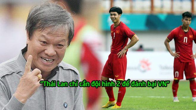 """Lê Thụy Hải: """"Bóng đá Việt Nam tiến bộ thật nhưng đừng nằm mơ ăn được Thái Lan"""""""