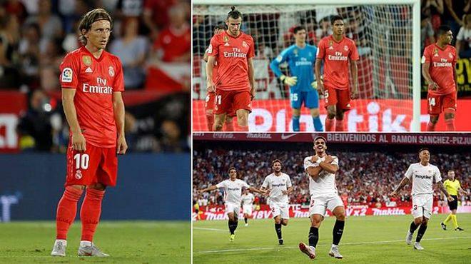 """Sevilla """"tặng quà"""" tân chủ nhân giải The Best 2018 và Real Madrid bằng cơn mưa bàn thắng không tưởng"""