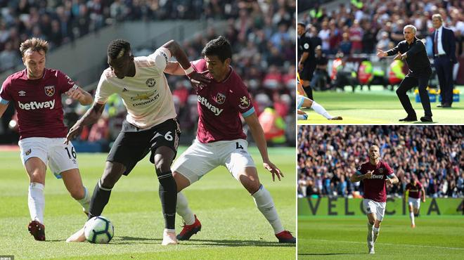 Quá nhục nhã: Để chú lùn West Ham giày xéo đến quằn quại, Mourinho cần đi khỏi M.U ngay lập tức!