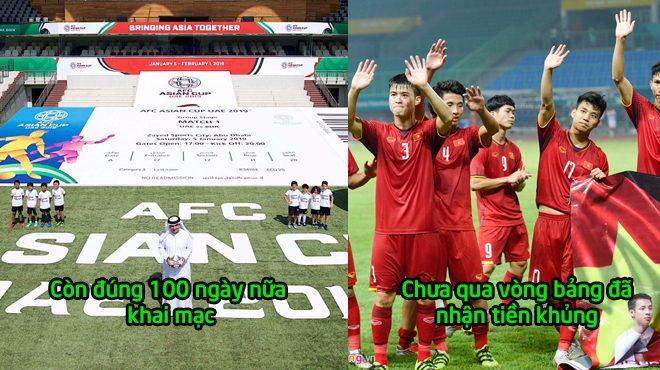 5 thay đổi lớn xảy ra ở Asian Cup 2019: Chưa tham dự Việt Nam đã nhận được số tiền thưởng kh.ủ.ng