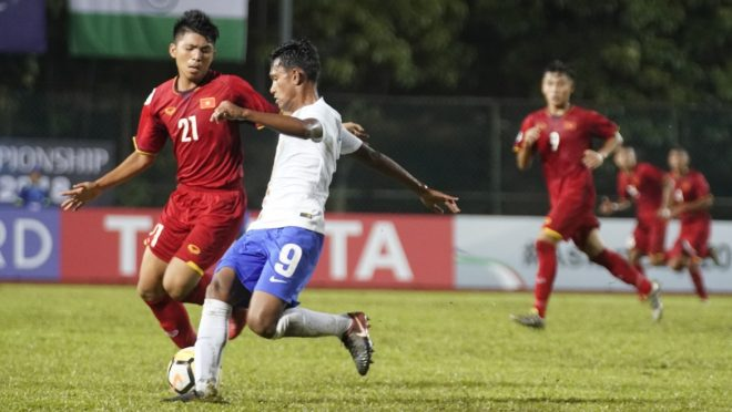 Trong khi indonesia quật ngã cả gã khổng lồ Iran, Việt Nam lại nhận thất bại đau đớn trước đội yếu nhất bảng ở giải châu Á