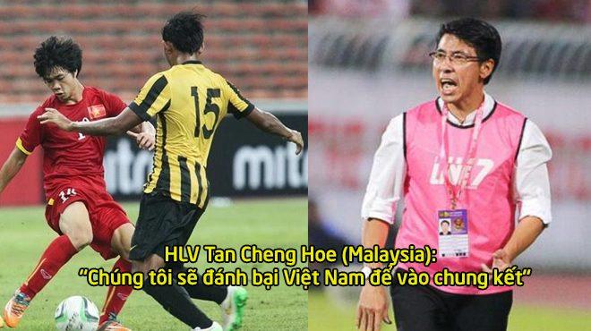 Mới thắng 1 trận giao hữu, HLV Malaysia đã cao giọng thách thức cả Đông Nam Á, làm gỏi Việt Nam để vào chung kết AFF Cup