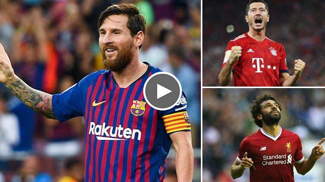 Top 10 ứng viên vua phá lưới Champions League 2018/2019 khiến mọi hàng thủ đều phải e sợ!