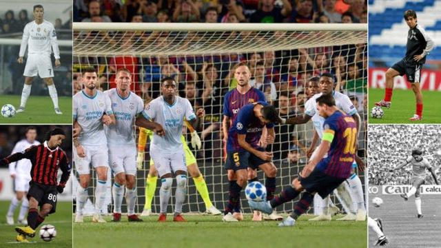 10 chân sút phạt xuất sắc nhất lịch sử bóng đá: Tiến bộ nhanh chưa từng có, Messi vẫn kém xa số 1