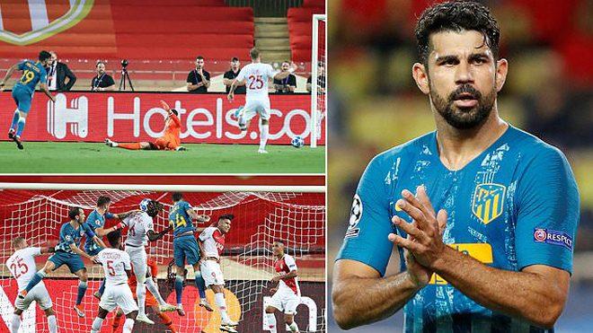 Sử dụng lối chơi đầy toan tính, Atletico Madrid giành 3 điểm trước Monaco bằng cách không thể thực dụng hơn
