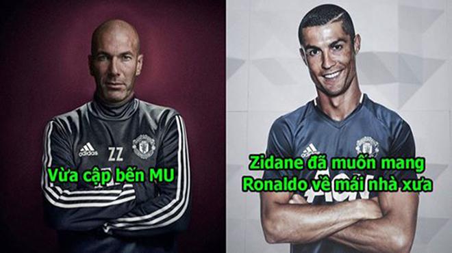 Chưa lên nắm quyền, Zidane đã thúc giục M.U mang Ronaldo trở về, thời kỳ hoàng kim của Sir Alex sắp quay lại rồi