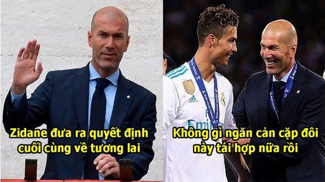 Lật kèo với MU, Zidane đã kí xong hợp đồng với Juventus, quyết cùng Ronaldo thống trị cả trời Âu