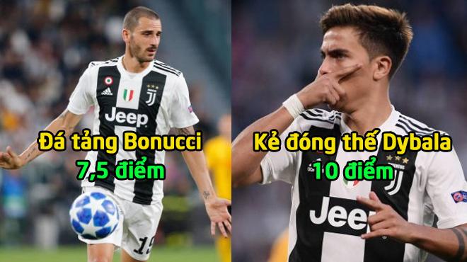 """Chấm điểm Juventus trong ngày đại thắng không Ronaldo: Điểm 10 cho """"kẻ đóng thế"""" hoàn hảo"""