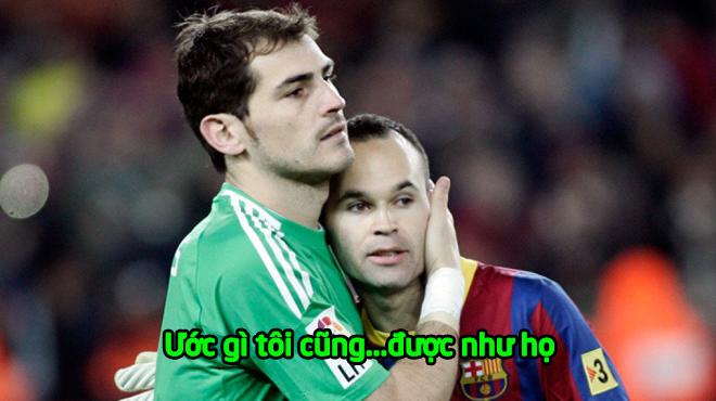 """Casillas hồi tưởng trong nước mắt: """"Giá mà tôi được chia tay có tình người như Iniesta và Torres"""""""