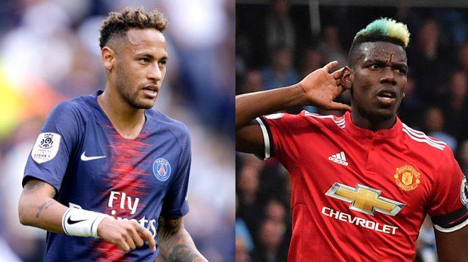 """Nhân lúc MU khốn đốn: Neymar """"châm lửa"""", gọi điện rủ Paul Pogba đến PSG"""