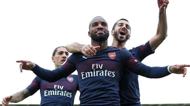 Bộ đôi s.á.t t.h.ủ mỗi người một cú đúp, Arsenal vùi dập không thương tiếc Fulham ngay trên sân của đối thủ