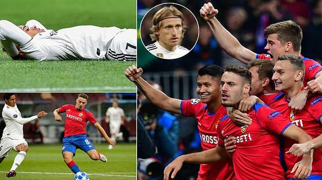 Siêu nhân cũng hóa tội đồ, nhà ĐKVĐ Real Madrid gục ngã cay đắng một cách khó tin trên đất Nga