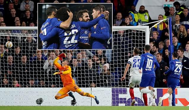 """""""Siêu chân gỗ"""" 60 triệu bảng nổ súng, Chelsea nhọc nhằn đ.á.n.h bại nhược tiểu Vidi FC ngay tại thánh địa Stamford Bridge"""