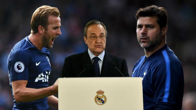 """Chấn động Real: """"Bố già"""" Perez họp khẩn sa thải HLV Lopetegui sau 4 tháng, đem về cặp đôi quyền lực của Tottenham?"""