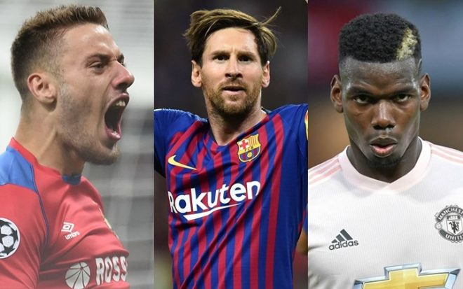 """BXH """"Vua phá lưới"""" Champions League 2018/2019: Trong khi Messi chiếm ưu thế tuyệt đối thì vẫn chưa thấy bóng dáng CR7 đâu!"""