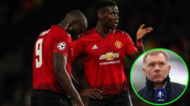 """Huyền thoại MU: """"Chúng tôi có thể đá ở vị trí trung vệ để đối đầu với Lukaku, anh ta dường như vô hại"""""""