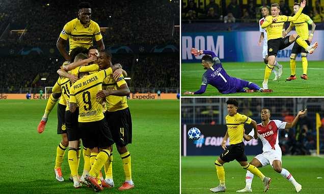 Kết quả Dortmund vs Monaco: Hiệp 2 bùng n.ổ 3 bàn mãn nhãn