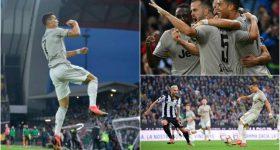 Ronaldo tiếp tục nổ s.ú.n.g, Juve thắng trận thứ 8 liên tiếp tại Serie A, chễm trệ trên ngôi đầu BXH
