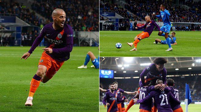 """Silva hóa """"siêu nhân"""", Man City nhọc nhằn vượt ải Hoffenheim, giành 3 điểm đầu tay"""
