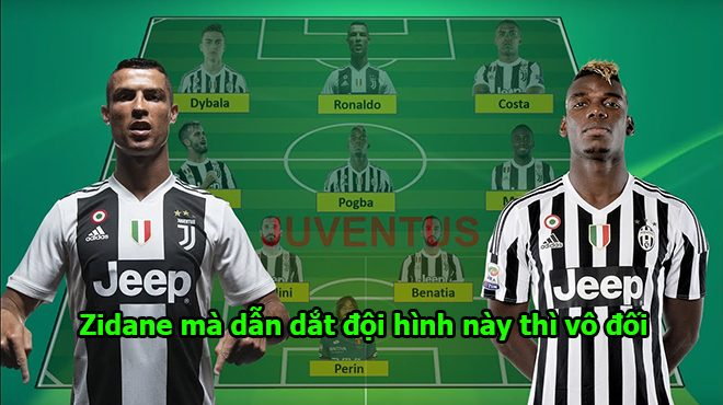 Siêu đội hình của Juventus khi Zidane lên nắm quyền: Hàng loạt siêu sao cập bến, đội bóng mạnh nhất vũ trụ là đây