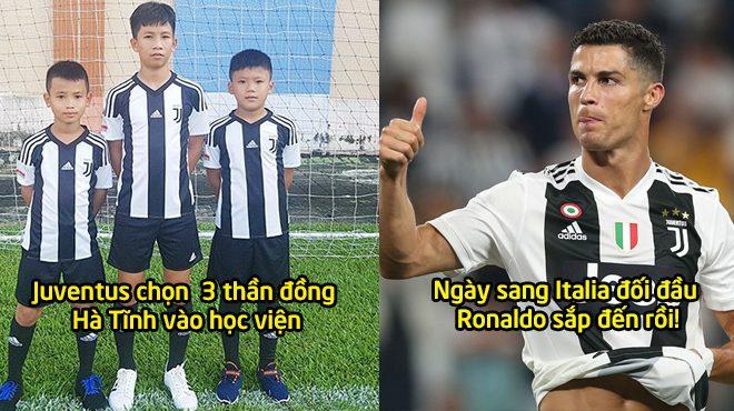 Quên Messi Hà Tĩnh đi, 3 đồng hương của em vừa được Juventus tuyển thẳng, ngày sang Ý gặp Ronaldo không còn xa rồi!